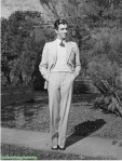 Robert Taylor just out of college in 1933.