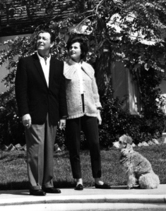 Robert Taylor With His Wife