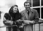 Barbara Stanwyck And Robert Taylor In 1947