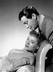 Robert Taylor and Audrey Totter in 'High Wall'