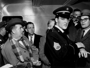 Col. Parker and Elvis, ca. 1959