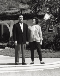 Robert Taylor with his wife Ursula Thiess