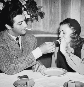 Robert Taylor and Ginger Rogers ca. 1939