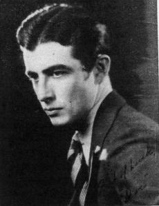 High School senior S.A. Brugh, 1929.