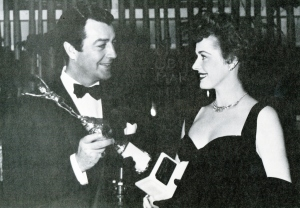 "He won the award for ""World's Favorite Actor"" at the Golden Globes for 1953."