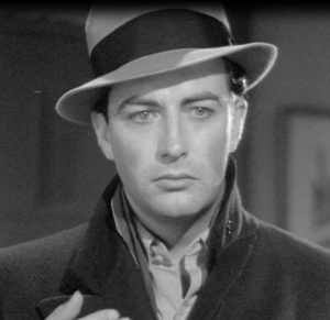 "Robert Taylor in ""The Crowd Roars,"" 1938."