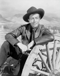 "Robert Taylor in ""Billy the Kid,"" 1941."