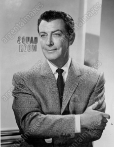 "Robert Taylor in ""The Detectives."""