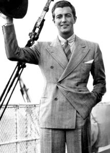 Robert Taylor in England, 1937.