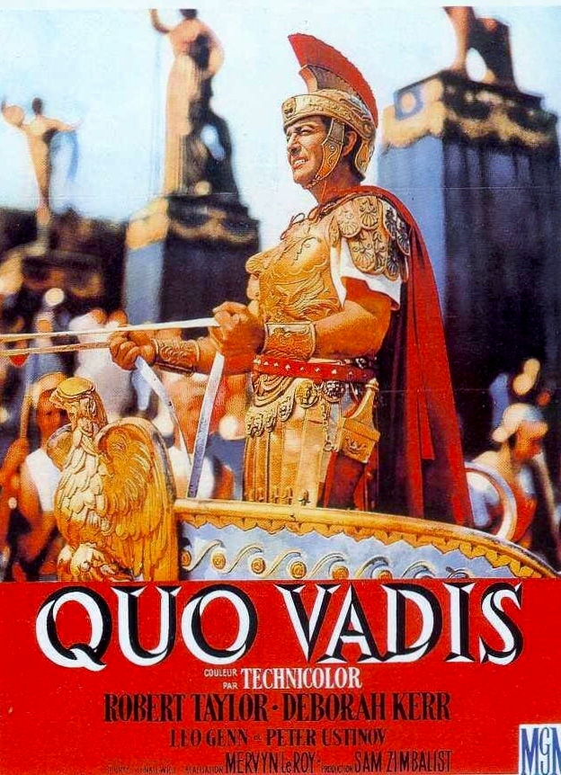 Image result for robert taylor triumph in quo vadis