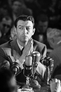 Robert Taylor at HUAC, October 22, 1947