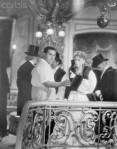 Greta Garbo Pointing at George Cukor