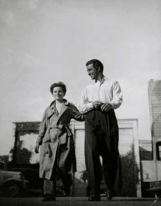 ca. 1936 --- Original caption: Freddie Bartholomew, actor, and Robert Taylor, actor --- Image by © Condé Nast Archive/Corbis