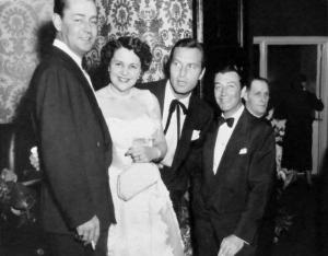 March 9, 1954; wedding Joan Benny and Seth Baker