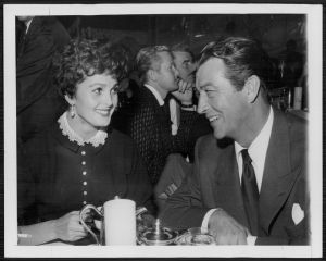 Robert and Ursula Taylor in 1954, the year they married.