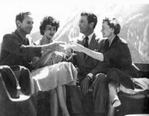 Wedding,Jackson,WY May 1954