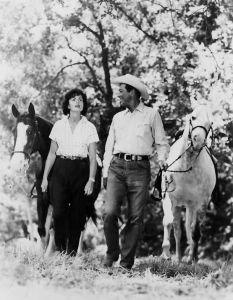 Bob and Ursula lived quietly on their Mandeville Ranch.