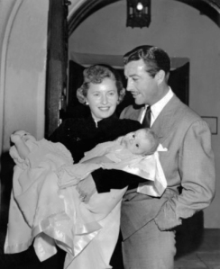 Barbara STANWYCK und Robert TAYLOR